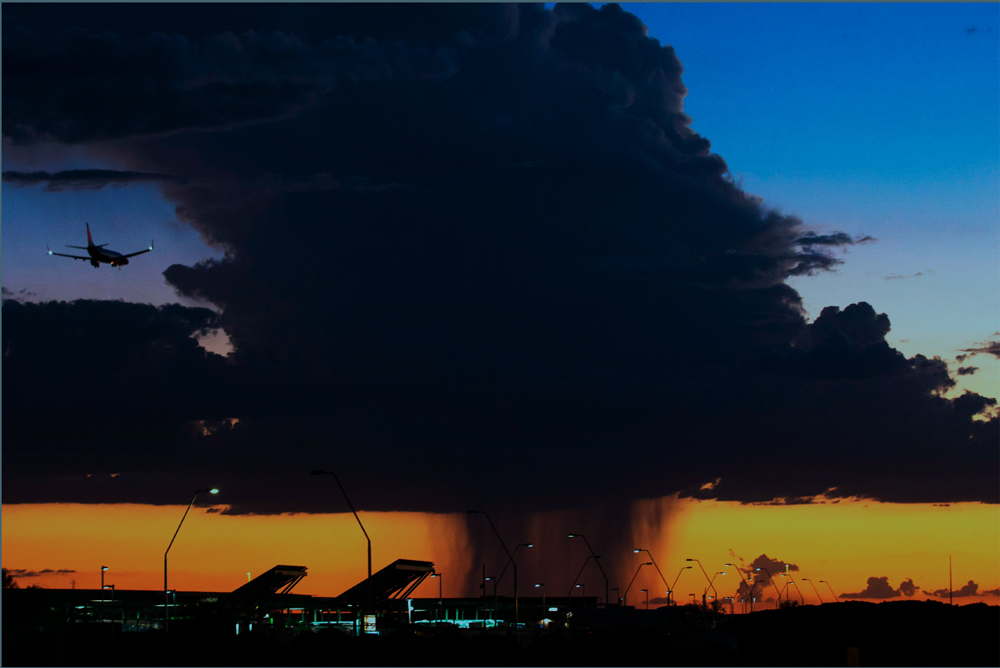 "2015 Photograph of the Year ""Monsoon Thunderstorm"" by Michael Chow – The Arizona Republic"